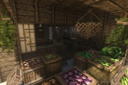 A good old Japanese landscape Minecraft Map & Project