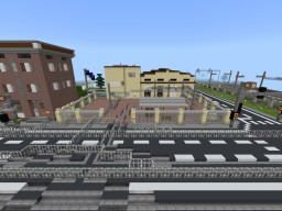 Tallinn Tram depot Minecraft Map & Project
