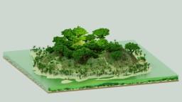 1.13 - 1.14 Custom Jungle Island 620x620 Minecraft Map & Project