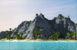 The Isolated Crag - [1000 x 1000 Custom Terrain] [Contest Entry] Minecraft Map & Project