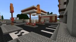 Embir Petrol Station Minecraft Map & Project