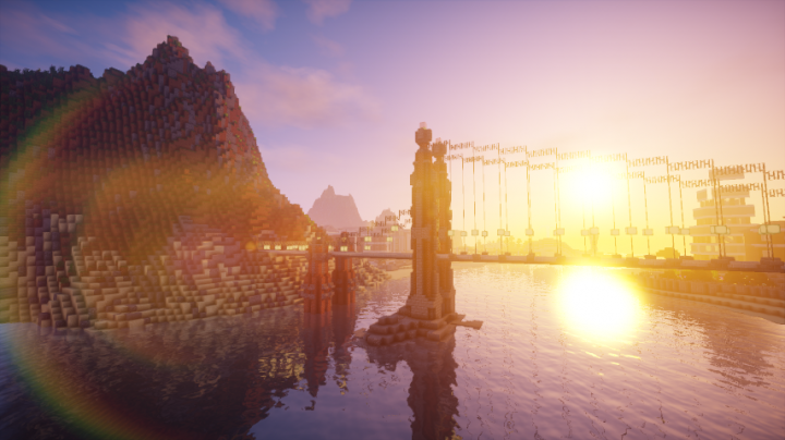 Part of our Survival server's spawn