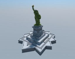 The Statue of Liberty Minecraft Map & Project