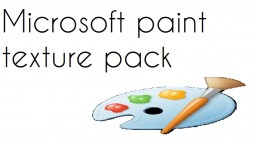 Microsoft Paint Texture Pack (ITEM OVERLAY) Minecraft Texture Pack