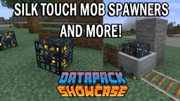 1.14 datapack: Silk Touch Spawners Minecraft Data Pack