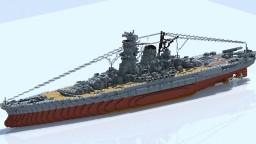 Battleship Yamato Minecraft Map & Project