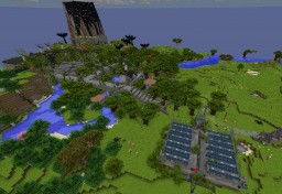 PROJECT OZONE 3 [Operation PO3 HEYWIRE] Update 10 (Closed Project) Minecraft Map & Project