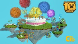 10 Years of Minecraft Minecraft Map & Project