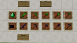 The Emerald and Obsidian Tools Mod 1.12.2 by Thonyhunter27 Minecraft Mod