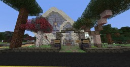 Alpha House Minecraft Map & Project