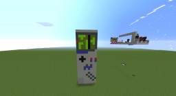 Is that a gameboy? BURN IT! Minecraft Map & Project