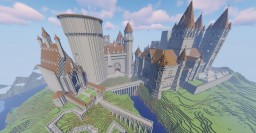 Skraby's Accurate Hogwarts Replica Build (WIP) Minecraft Map & Project