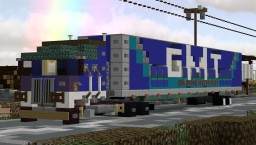 Kenworth K100 GMT Logistics company / trailer 53ft Minecraft Map & Project