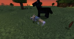 Fox McCloud over red foxes Minecraft Texture Pack