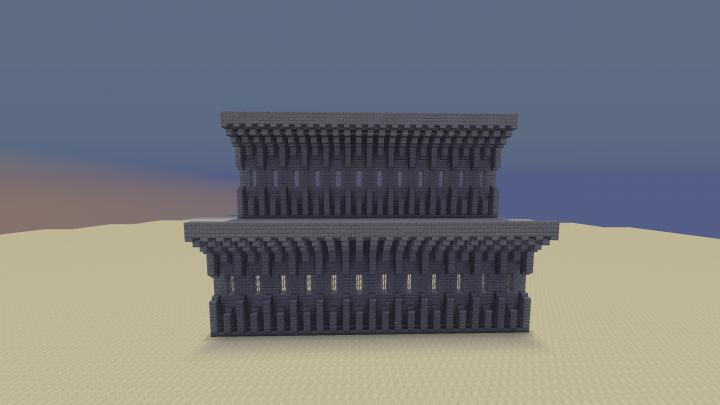 Castle Walls Idea Minecraft Map
