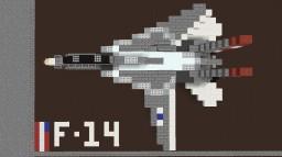 F-14 Tomcat (1,5:1) Minecraft Map & Project