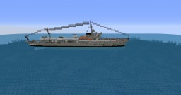 ciclone class torpedo boat Minecraft Map & Project