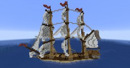 The Vuelie - 18th Century Frigate Minecraft Map & Project