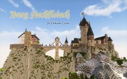Burg Fischfleisch: a medieval castle Minecraft Map & Project
