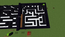 Maze Solver Minecraft Map & Project