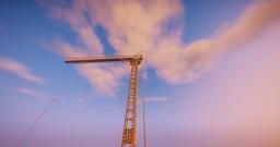 Modern crane Minecraft Map & Project