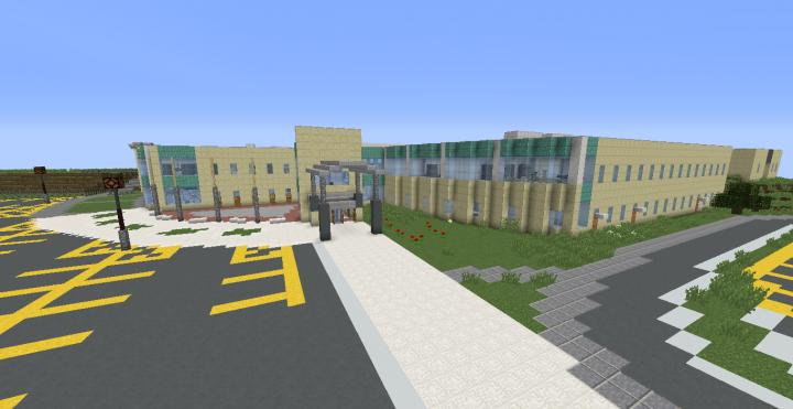 Columbine High School Minecraft Map