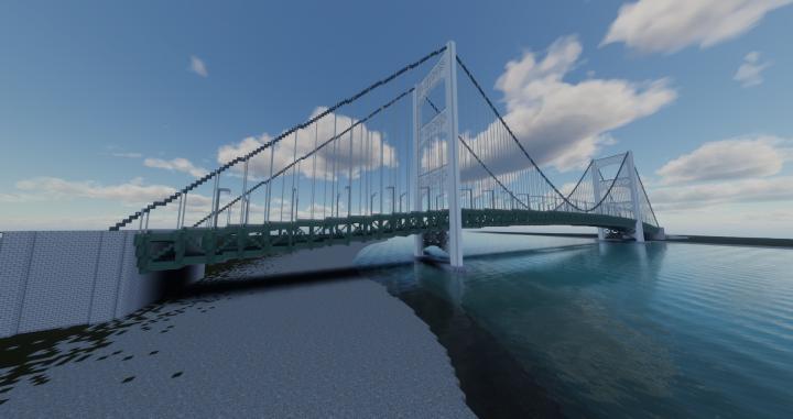 Riverside Bridge - Centennial City Minecraft Project