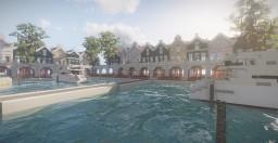 Amberstone City Marina Minecraft Map & Project