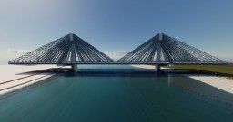 Three Peaks Bridge - Centennial City Minecraft Map & Project