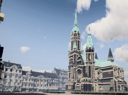 Evangelische Hauptkirche Rheydt, Rheydt, North Rhine Westphalia, Germany Minecraft Map & Project