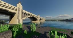 Charles Delgan Memorial Bridge - Harkenburg City Minecraft Map & Project