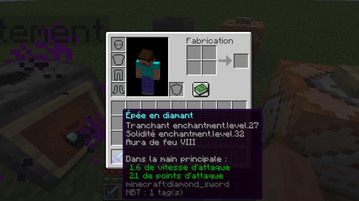 Enchantment Infinity (English version) Minecraft Data Pack