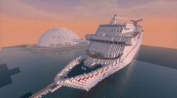 Carnival Imagination 1:1 Scale Minecraft Map & Project
