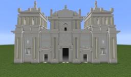 Insigne y Real Basílica Catedral de la Asunción de la Bienaventurada Virgen María (1:1) Minecraft Map & Project