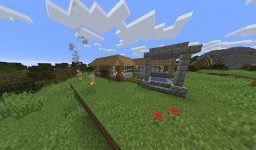 1.14.1 Survival Home Minecraft Map & Project