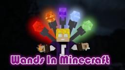 Wands in Vanilla Minecraft 1.14/1.14.1 Minecraft Data Pack