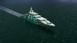 Mega multimillionaire yacht Dubai Minecraft Map & Project