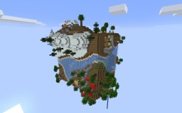Planet Earth survival Minecraft Map & Project