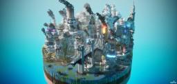 PetroCity - The Capitalism area Minecraft Map & Project