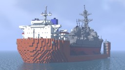 Heavy lift ship Minecraft Map & Project