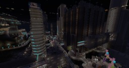 Coruscant, age: Clone Wars (Star Wars planet) Minecraft Map & Project
