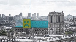 Rebuild of Notre Dame in Minecraftstyle :D Minecraft Blog