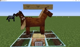 1.14 to 1.15 - How to check Equine Stats (McFunction) Minecraft Map & Project