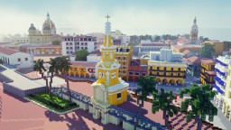 The Walled City - Cartagena De Indias, Colombia - UNESCO World Heritage Contest Minecraft Map & Project