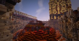 Arena 4 biomes Minecraft Map & Project