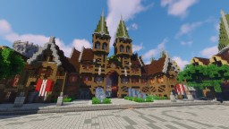 Orös - A Medieval Fantasy city hall Minecraft Map & Project