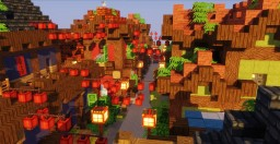 Small Japanese Town Plot Minecraft Map & Project