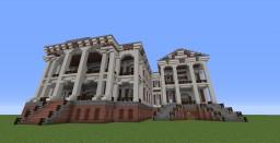 Nottoway Plantation House Minecraft Map & Project