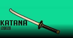 Katana 3D Model/Files Minecraft Texture Pack