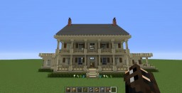 House with Columns Minecraft Map & Project